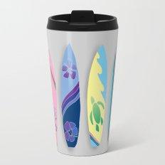 Four Surfboards Travel Mug