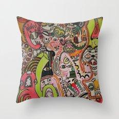 miles davies Throw Pillow