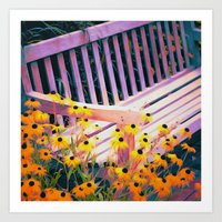 Planting Dreams and Watching Them Bloom Art Print