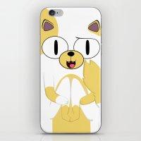CAKE THE CAT iPhone & iPod Skin