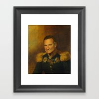 Robin Williams - Replace… Framed Art Print