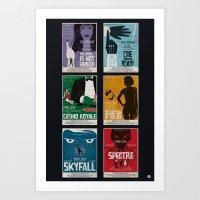 Bond #4 Art Print