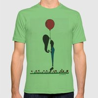 Infinite Sadness Mens Fitted Tee Grass SMALL