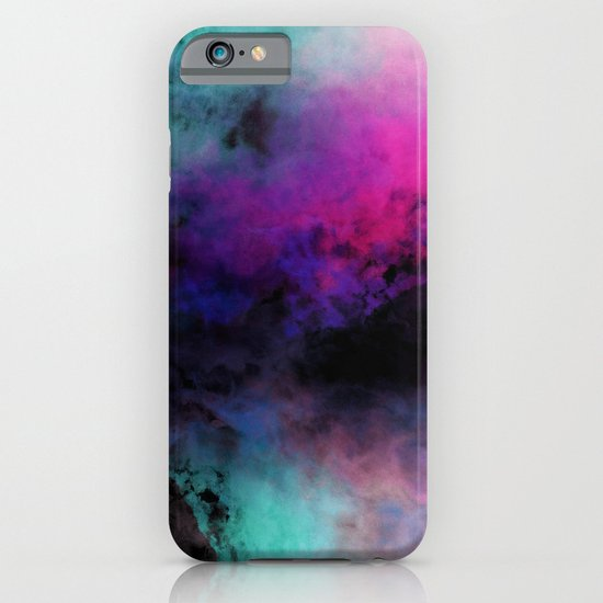 Neon Radial Dreams iPhone & iPod Case