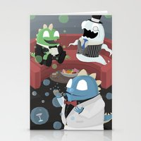 Bubble Bobble Cocktail Party Stationery Cards