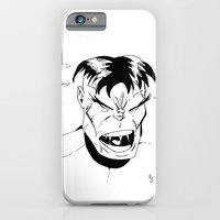 iPhone & iPod Case featuring Hulk - You Wouldn't Like Me When I'm Angry - 2012 by MindFrost Solutions