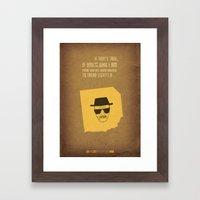 Breaking Bad - Blood Money Framed Art Print