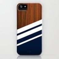 Wooden Navy iPhone (5, 5s) Slim Case
