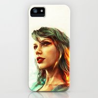 iPhone 5s & iPhone 5 Cases featuring When the Sun Came Up by Alice X. Zhang