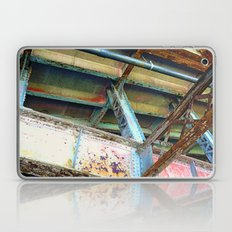 Beams and Girders - Charles River Overpass Laptop & iPad Skin