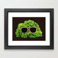 Mr Salad Framed Art Print