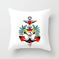 Ancla Throw Pillow
