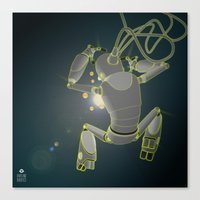 Quantum magic Canvas Print