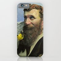 iPhone & iPod Case featuring John Muir by Brian DeYoung Illustration
