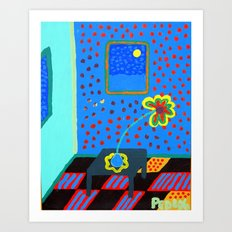 One Daisy Art Print
