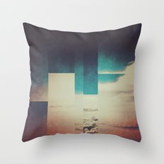Fractions A27 Throw Pillow