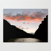 River Douro Sunset Canvas Print