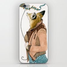 Fox and a Kite iPhone & iPod Skin