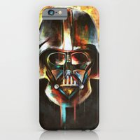 darth vader iPhone & iPod Cases featuring Darth Vader  by Mishel Robinadeh