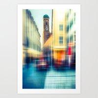 Frauenkirche - Munich - … Art Print