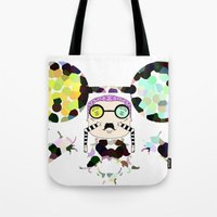 Monsieur Steams Tote Bag