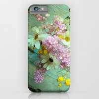 iPhone Cases featuring country flowers by Joke Vermeer