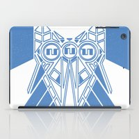 Power Wolf Blue iPad Case