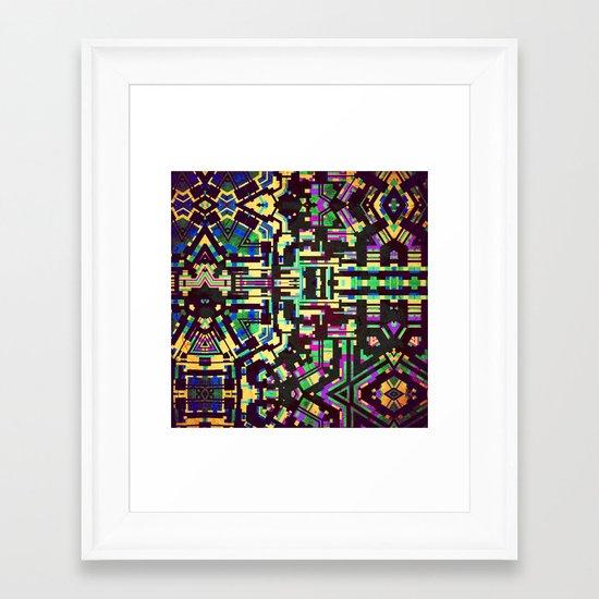 Composition 11 Framed Art Print