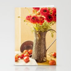 Round Reds Stationery Cards