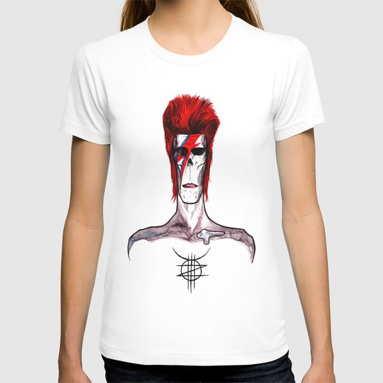 Zed Mercury, 'Aladdin Sane' Bowie tribute T-shirt