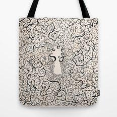 Parchment Secret Tote Bag