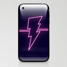 Rad Pink Neon Lightning iPhone & iPod Skin