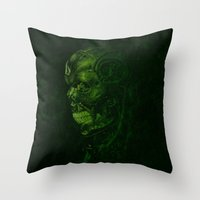 The Terminator - Version… Throw Pillow