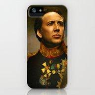 Nicolas Cage - Replacefa… iPhone (5, 5s) Slim Case