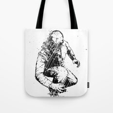 Trouble Will Find You, Always (Black/White Version) Tote Bag
