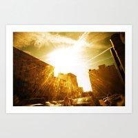 The Golden Sun Shines On… Art Print