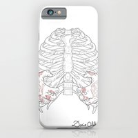 iPhone & iPod Case featuring Human ribs cage by Dario Olibet