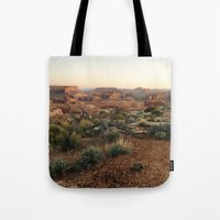 Monument Valley Morning Tote Bag