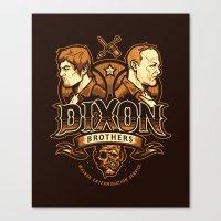 Dixon Brothers Walker Extermination Canvas Print