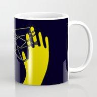 Yellow Cats Cradle Mug