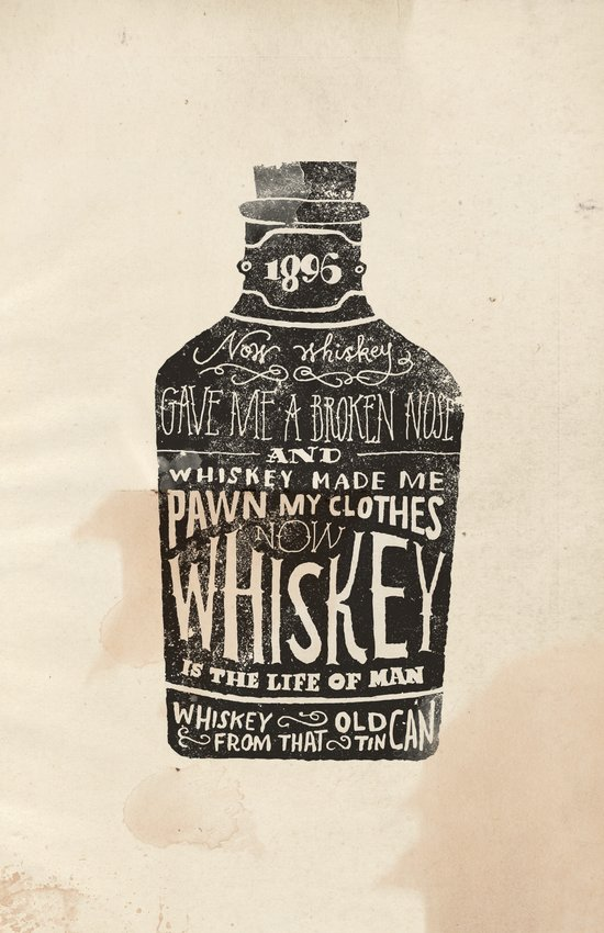 Whiskey Art Print