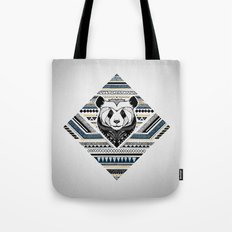 Indian Panda Tote Bag