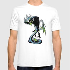 Roswell gang - RazorWing Alpha a.k.a. Puppet Master - Villains of G universe White SMALL Mens Fitted Tee