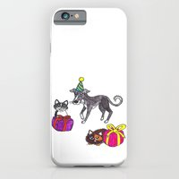 iPhone & iPod Case featuring Pet party by Lauren's Drawings