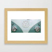 Vintage VW Framed Art Print