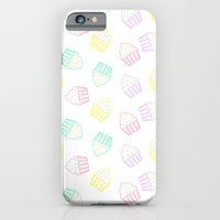 iPhone & iPod Case featuring pastel cupcakes  by Aneela Rashid