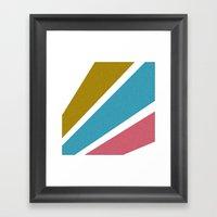 Color Burst Framed Art Print