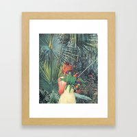 Hiding Framed Art Print