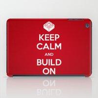 Keep Calm and Build On iPad Case
