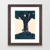 Lay Your Weary Head To R… Framed Art Print